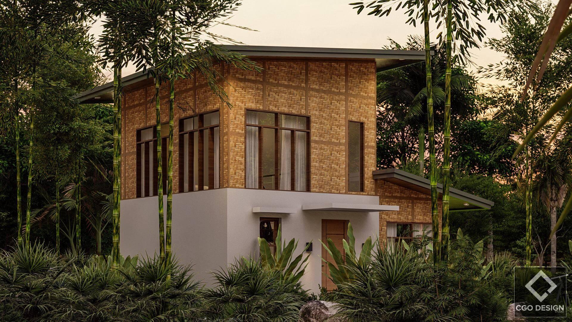 Tropical Modern Home