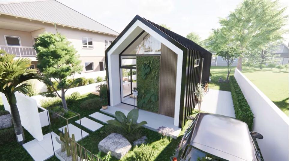 architect oliver austria expandable house